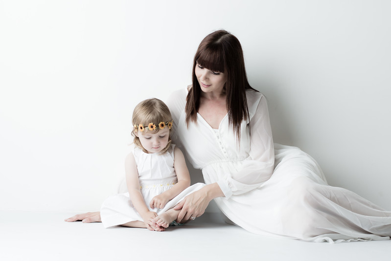 Mother and daughter session