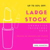 Cosmetics Inventory Sale