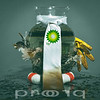 Photo Illustration of the BP oil spill.