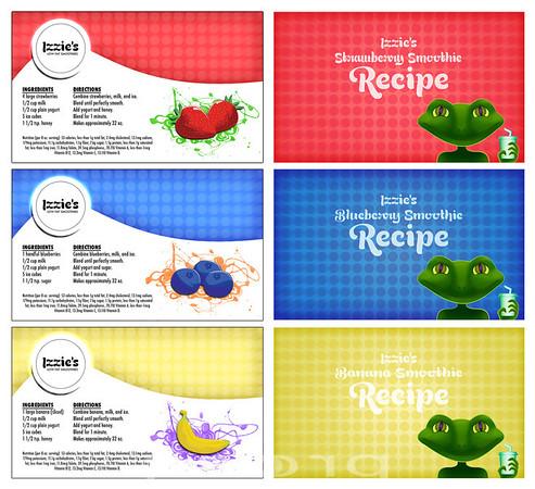 Mock Up Recipe Cards.