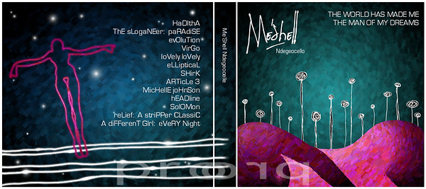 Mock Up CD Case.<br /> <br /> Meshell Ndegeocello - music explores religion and sexuality.  She mixes her smooth sultry voice with funky soul tunes whose backdrops are full of psychedelic music.