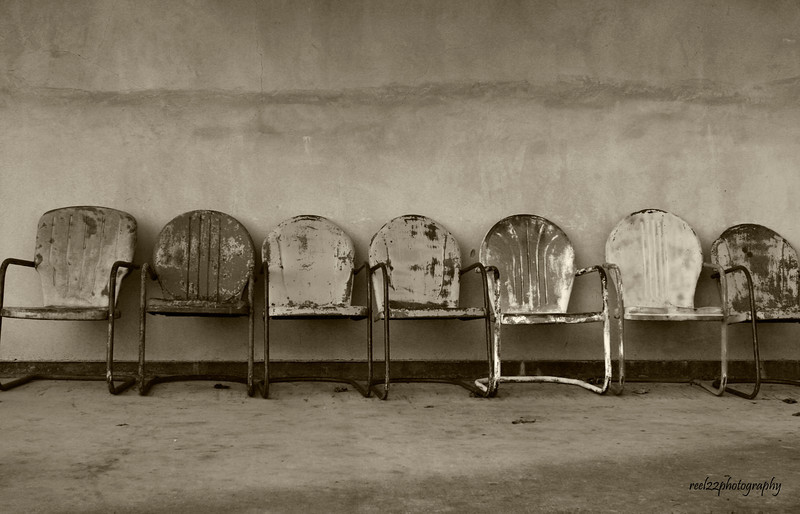 Chairs, sepia