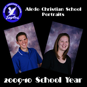 Aledo Christian School Portraits 2009-10