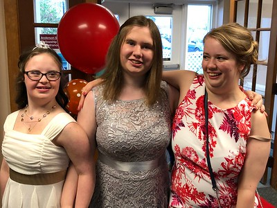 Arriving at the Lake Orion United Methodist Church and its Special Needs prom on Friday, May 11, 2018. Stephen Frye / Digital First Media.