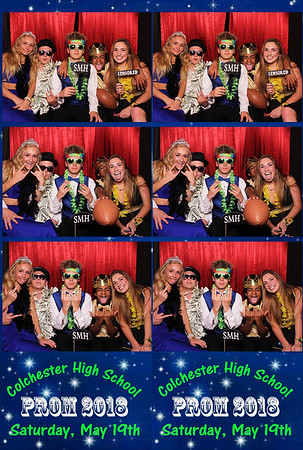 2018 Colchester Prom Photobooth Photos