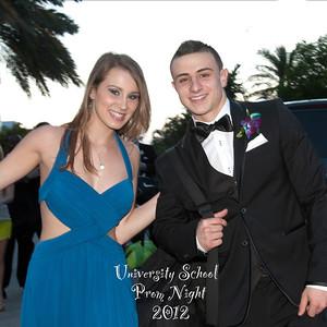 University School Prom Night - April 5, 2012