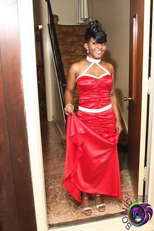 Before Nakiyah's prom