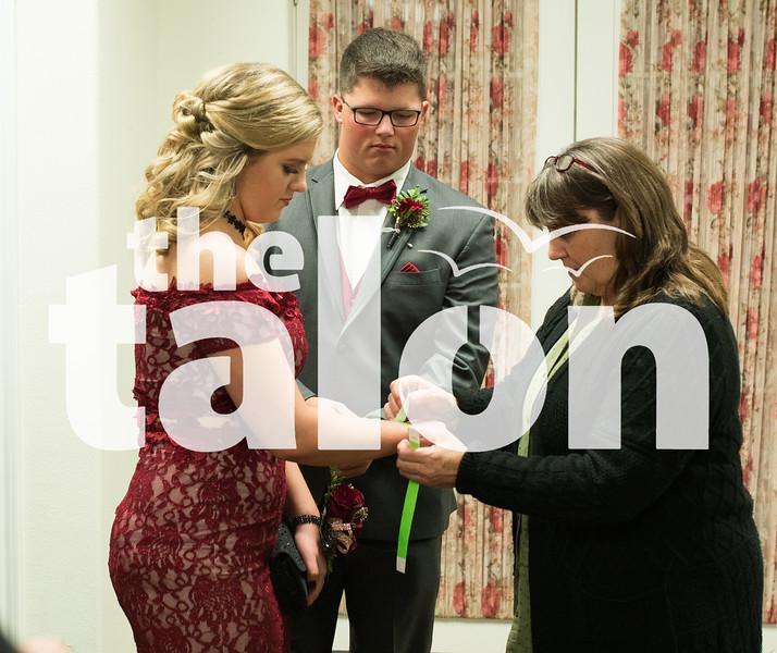 Eagles in Prom at Buffalo Valley Event Center  Denton, TXApril 1, 2019. (Stacy Short/ The Talon News)