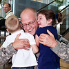 Barrus Family:  Military Homecoming :