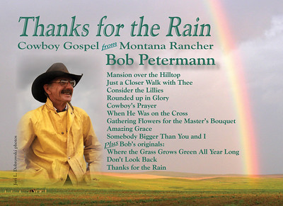 July 2007 Postcard Announcing Bob Petermann's New Gospel Album