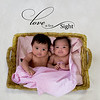 Newborn Akane and Alayna :