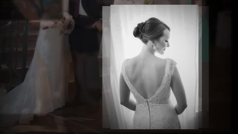 """VIDEO SHOW:  Click the arrow to start the show : """"The Wedding of Melissa & James"""