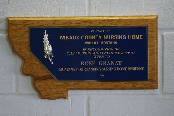Wibaux County Nursing Home Christmas Party:  12/18/11