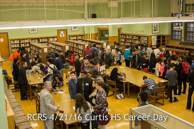 RCRS Career Day at Curtis High School