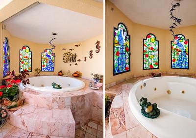 Jacuzzi style hot tub