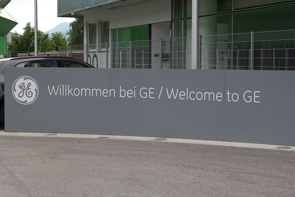 This is the whole reason why we were in Austria! Welcome to GE!