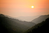 Newfound Gap Road Sunset Smoky Mountains Canon 5d Sigma 150 OS Macro