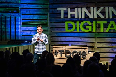 Herb Kim at Thinking Digital Conference 2018