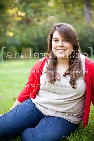 Amberlyn: Senior Session in Thomasville