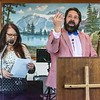 George Carey Preaches at Sonlight Chapel - George & Kat Carey