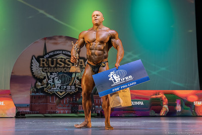 1st Place Overall 100 Pavel Vashchenko