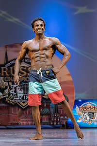 8th Place 129 Umesh Kumar