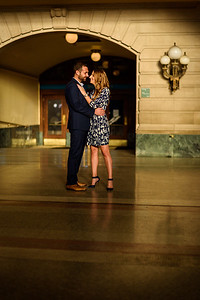NNK - Amanda and Harry - Engagement - Hoboken Train Station (18 of 77)