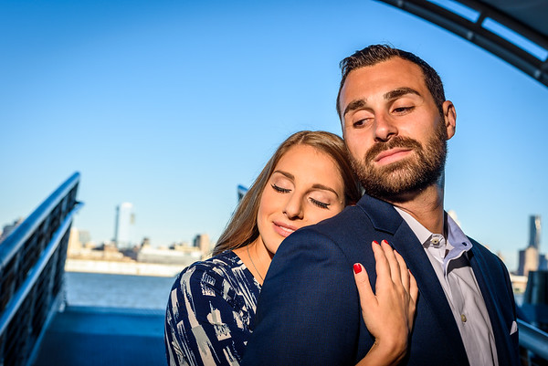 NNK - Amanda and Harry - Engagement - Hoboken Train Station (7 of 77)