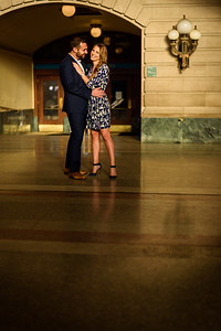 NNK - Amanda and Harry - Engagement - Hoboken Train Station (20 of 77)