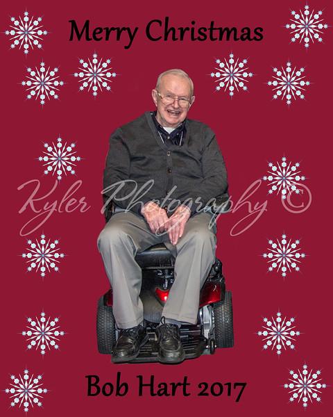 Bob Christmas card