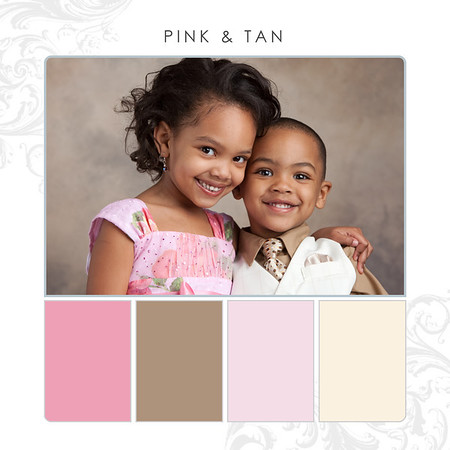 Pink-Tan