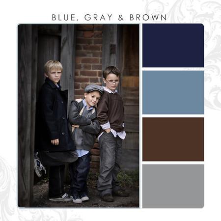 Blue-Gray-Brown