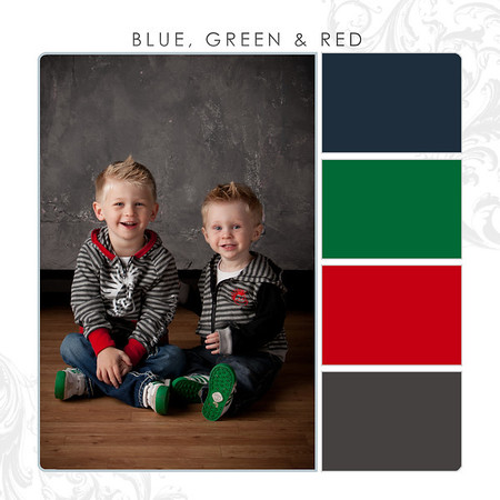 Blue-Green-Red