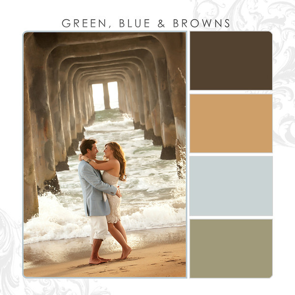 Green-Blue-Browns