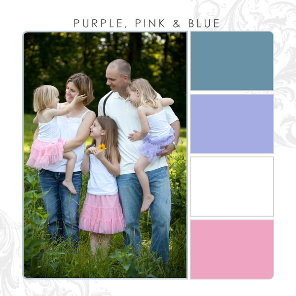 Purple-Pink-Blue
