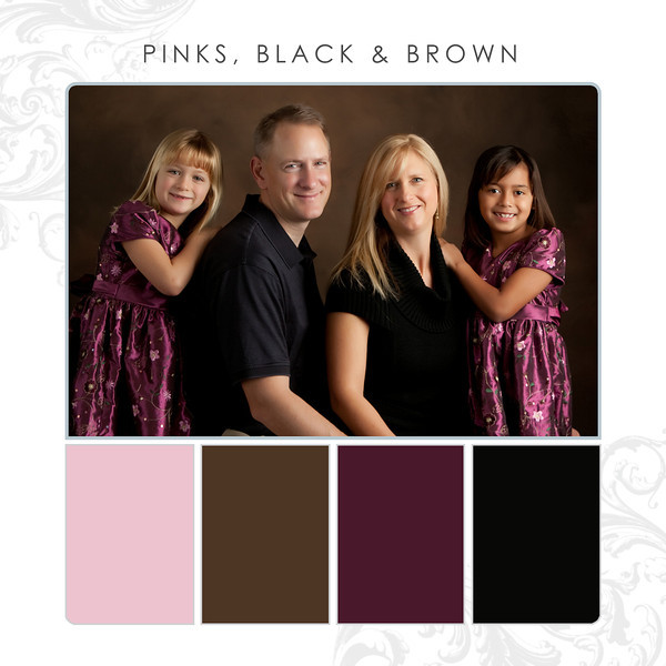 Pinks-Black-Brown
