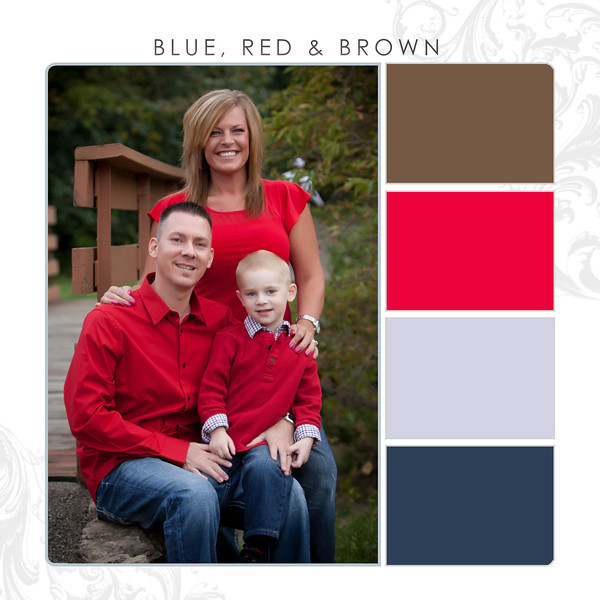 Blue-Red-Brown