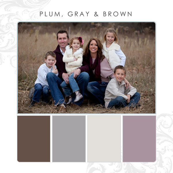 Plum-Gray-Brown