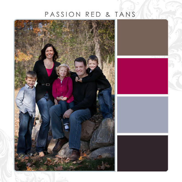 Passion Red-Tans