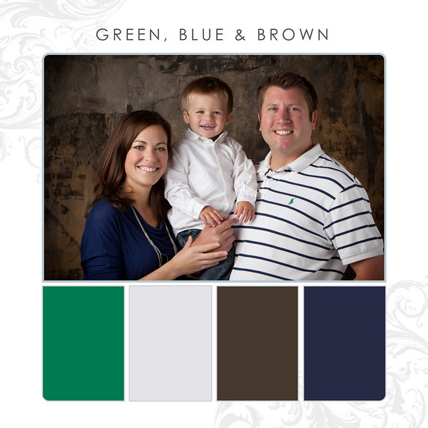 Green-Blue-Brown