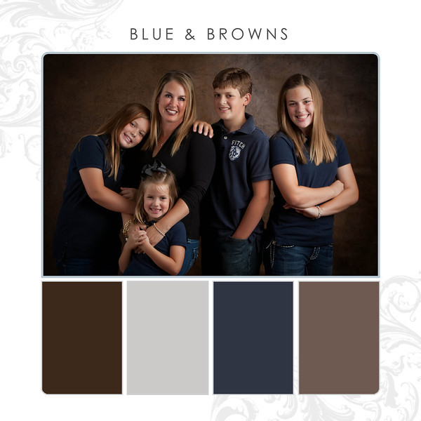 Blue-Brown