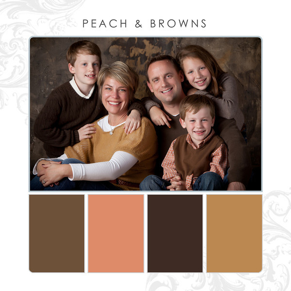 Peach-Browns