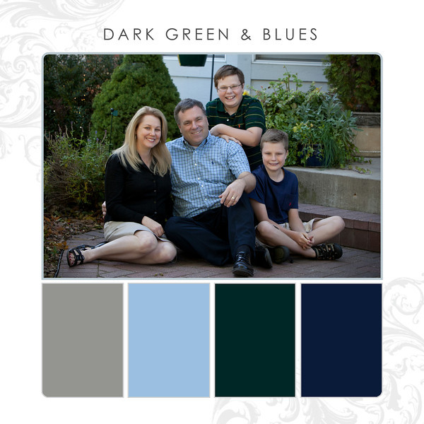 Dark Green-Blues