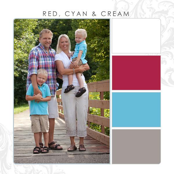 Red-Cyan-Cream