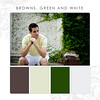 Brown-Green-White