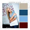 Maroon-Blue