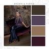 Brown-Purple