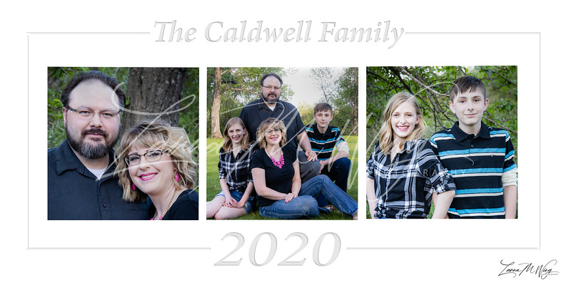 Caldwell Family Collage