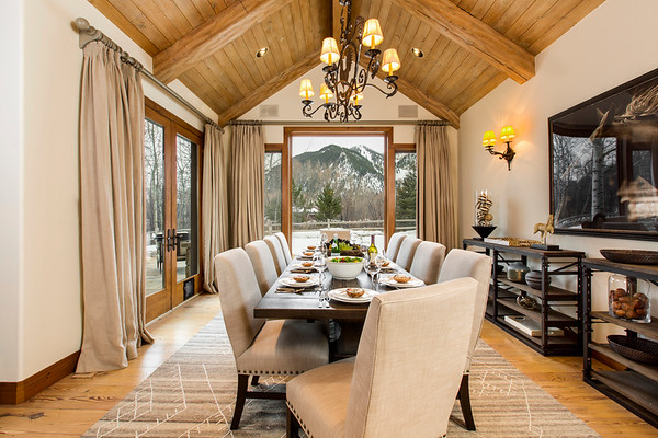 Dining Room; Aspen, Colorado, United States