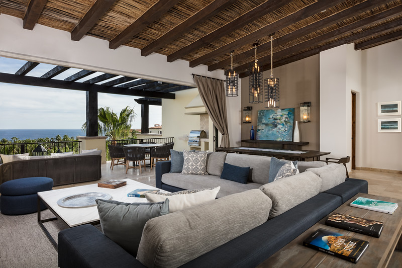 Great Room; Auberge Private Residences at Esperanza; Los Cabos, Mexico